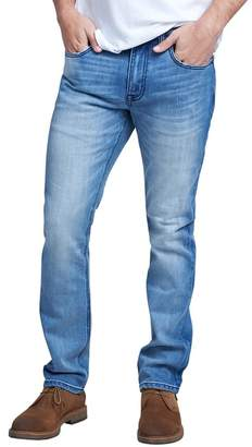 "Seven7 Slim Straight Jeans - 30-34"" Inseam"