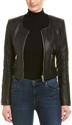 Bagatelle City Perforated Leather Jacket