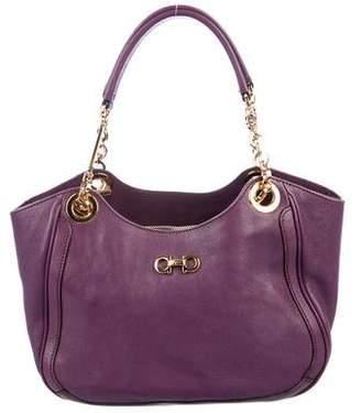 Salvatore Ferragamo Leather Betulla Bag