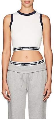 Fila Women's Babette Stretch-Cotton Crop Top