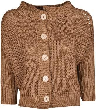 Bruno Manetti Manetti Crop Knitted Cardigan