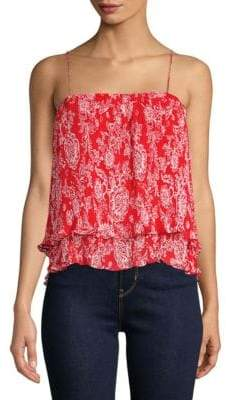 Ella Moss Pleated Tank Top