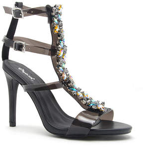 a681d76aca9 Qupid Heel Strap Women s Sandals - ShopStyle