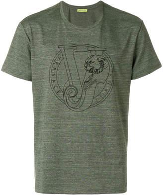Versace V printed T-shirt