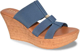 Italian Shoemakers Vali Wedge Sandal - Women's