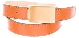 Acne Studios Leather Buckle Belt