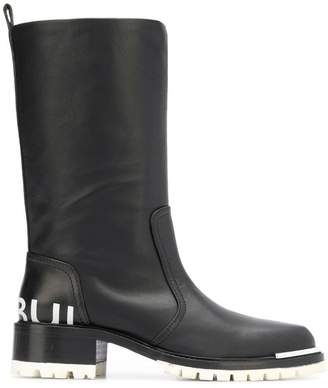 Barbara Bui round toe knee boots