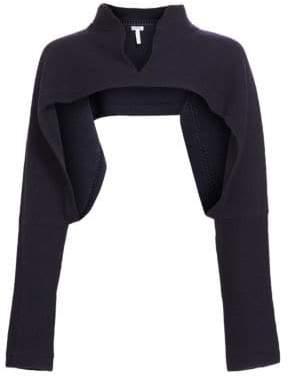 Loewe Wool& Cashmere Polo Neck Bolero