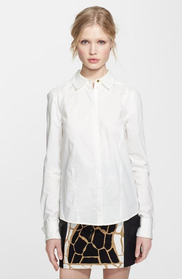 Rachel Zoe Stretch Cotton Shirt