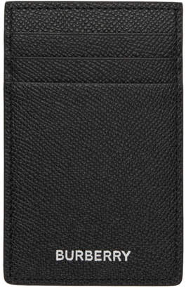 Burberry Black Elmer Card Holder