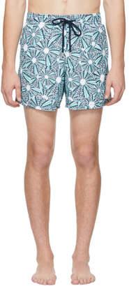 Vilebrequin Blue Oursinade Moorea Swim Shorts