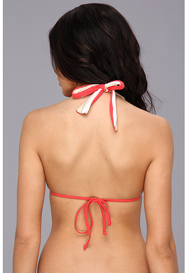 GUESS Triple Threat Rem S/C Triangle Bikini Top
