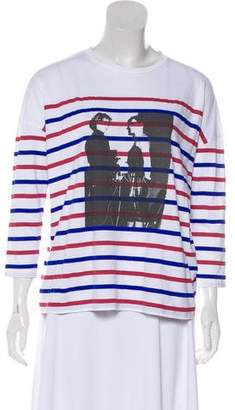 Each X Other Graphic Long Sleeve Top