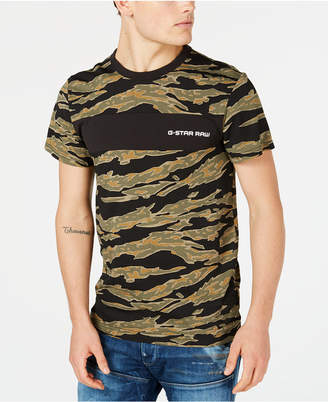 G Star Men's Tiger Camo T-Shirt, Created for Macy's