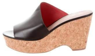 Diane von Furstenberg Bonnie Wedge Sandals w/ Tags