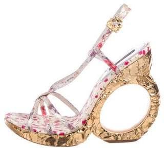 Louis Vuitton Ferrique Titania Sandals