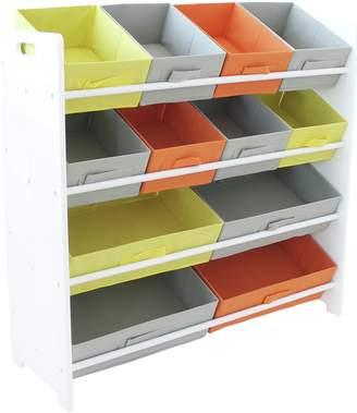 Argos Home 4 Tier Childrens Basket Storage Unit