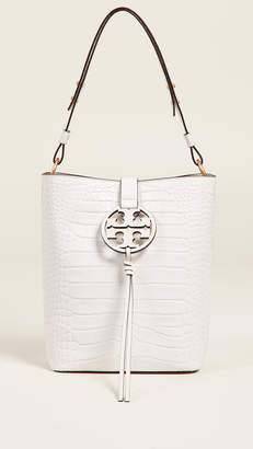 Tory Burch Miller Embossed Hobo Bag
