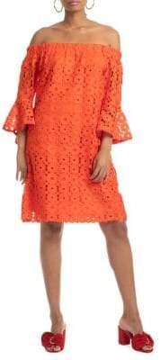 Trina Turk Shangri La Healdsburg Floral Lace Dress