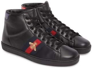 Gucci Ace High Top Sneaker