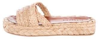 Robert Clergerie Platform Espadrille Sandals