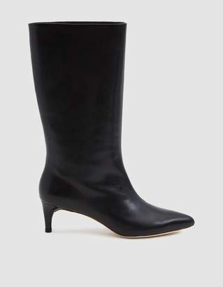 Loeffler Randall Naomi Kitten Heel Tall Boot in Black