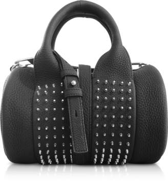 Alexander Wang Black Matte Leather Baby Rockie Satchel bag