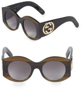 Gucci 51MM Round Sunglasses