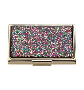 Kate Spade Metal Gifts Card Holder Multi
