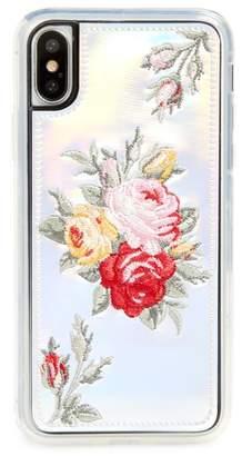 Zero Gravity Bouquet iPhone X Case