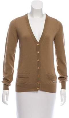 Dolce & Gabbana Button-Up Knit Cardigan