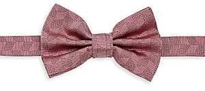 Emporio Armani Men's Neat Chevron Silk Bow Tie