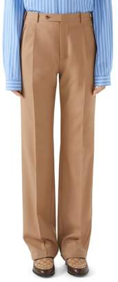 Gucci Pleated Wool Trousers