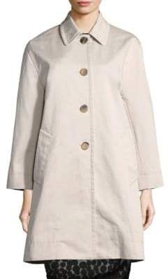 Marc Jacobs Cotton Balmacaan Coat