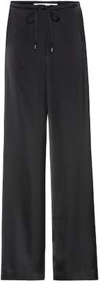 McQ Satin wide-leg trousers