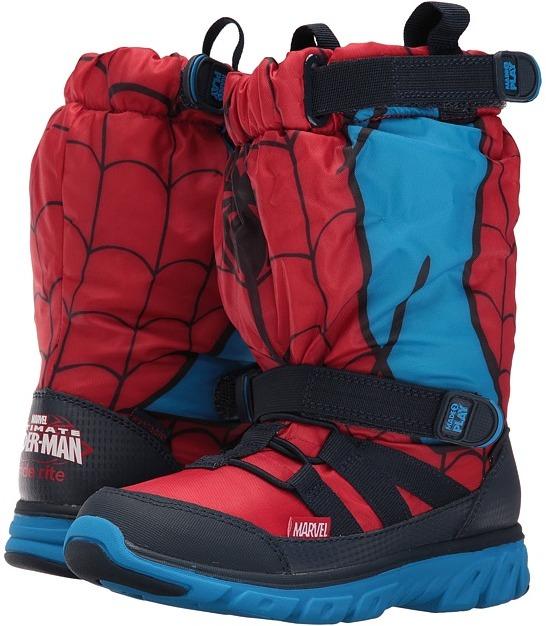 Stride Rite Made 2 Play Spiderman Sneaker Boot (Little Kid)