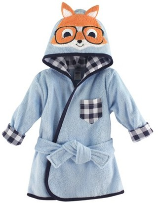 Hudson Baby Woven Terry Animal Bathrobe - Nerdy Fox
