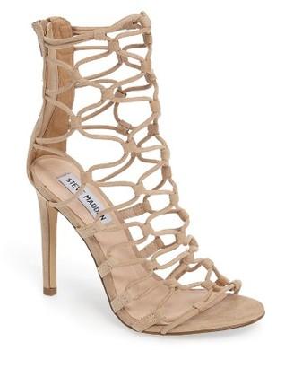 Women's Steve Madden Mayfair Latticework Tall Sandal $99.95 thestylecure.com