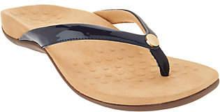 Vionic Thong Sandals w/ Button Detail- Mona