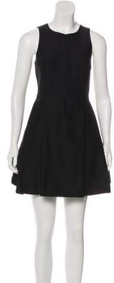 Tibi Colorblock Cutout Dress