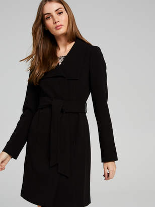 Portmans Australia Eloise Funnel Neck Wrap Coat