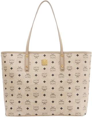 MCM Medium Anya Zip Top Shopper
