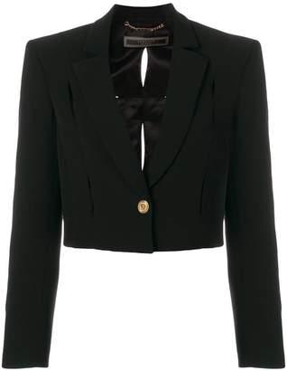 Versace cropped tuxedo jacket