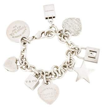 Tiffany & Co. Multi Charm Bracelet