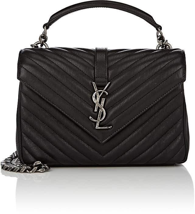 Saint Laurent Women's Monogram College Medium Leather Shoulder Bag