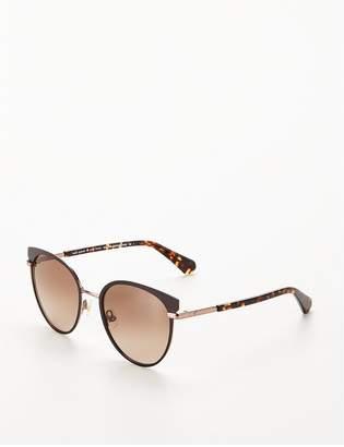 Kate Spade Oval Tort Sunglasses