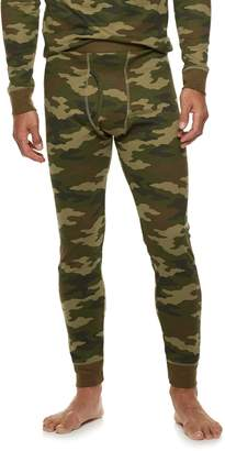 Croft & Barrow Men's Camo Thermal Base Layer Underwear Pants