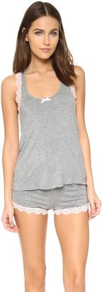 Honeydew Intimates All American Shortie Pajama Set $38 thestylecure.com