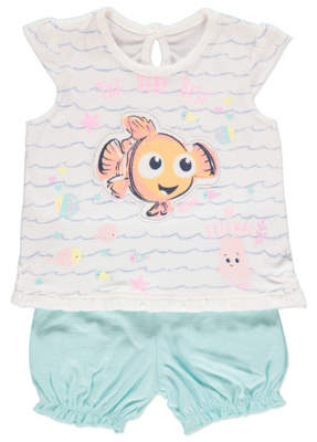 b9e1a49366 Disney George Finding Nemo Top and Shorts Outfit