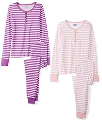 The Slumber Project Women's Shorty Short Sleeve Pajama Set XX- White